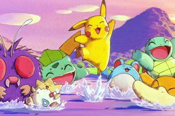 Wallpaper Pokemon Pikachu Wallpaper, Pokémon, Bulbasaur