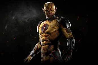 Wallpaper Reverse Flash, Injustice 2