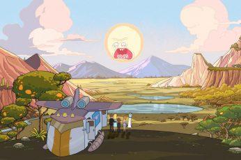 Rick And Morty Wallpaper, Rick Sanchez, Morty