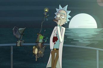 Wallpaper Rick Character, Rick And Morty, Adult Swim