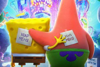 Wallpaper Sponge Bob Square Pants, The Spongebob Movie