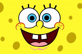 Wallpaper Spongebob Smiling, Spongebob Squarepants, Smile