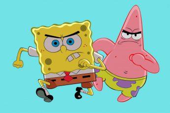 Wallpaper Spongebob Squarepants And Patrick The Star, Tv