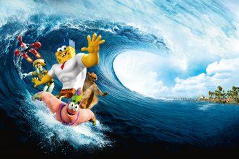 Wallpaper Spongebob Squarepants Illustration, The Spongebob
