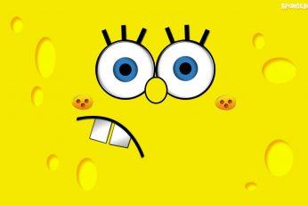 Wallpaper Spongebob Squarepants Ilustration, Yellow, Mug