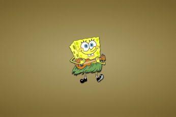 Wallpaper Spongebob Squarepants, Smile, A Reed, Fun