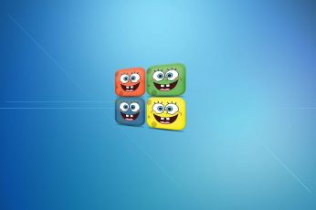 Spongebob Squarepants Wallpaper, Smile, Windows