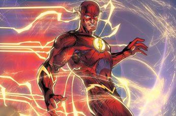 The Flash Digital Wallpaper, Superhero, Dc Comic