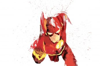 Wallpaper The Flash Illustration, Dc Comics, Superhero