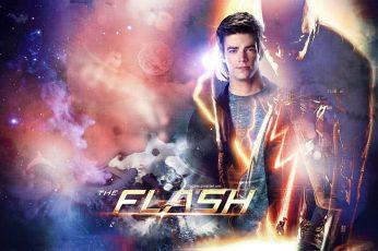The Flash Wallpaper, Tv Series, Grant Gustin