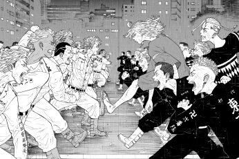 Wallpaper Tokyo Revengers, Anime