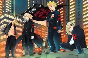 Wallpaper Tokyo Revengers, Manga