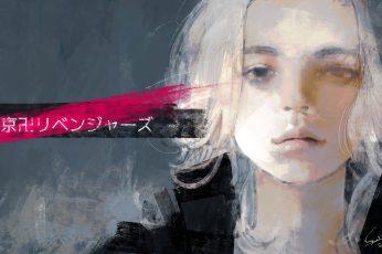 Wallpaper Tokyo Revengers, Manjiro Sano, Sui Ishida, Fan Art