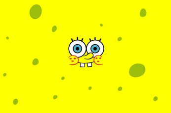 Wallpaper Tv Show, Spongebob Squarepants, Yellow, Close Up