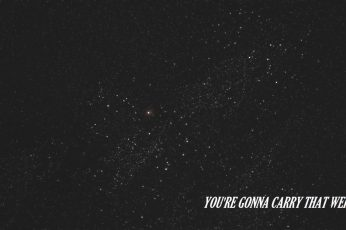 Wallpaper Youre Gonna Carry That Weight Text, Cowboy Bebop