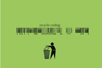Coding Wallpaper HD, Recycle Coding