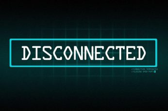 Coding Wallpaper, Disconnected