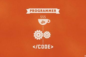Coding Wallpaper, Programmer, Code