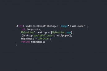 Minimalist Coding Wallpaper