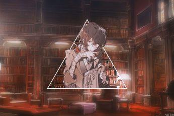 Wallpaper Anime, Picture In Picture, Dazai Osamu