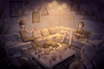 Wallpaper Anime, Bungou Stray Dogs, Atsushi Nakajima