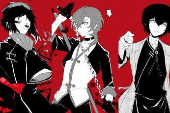 Wallpaper Anime, Bungou Stray Dogs, Chuya Nakahara