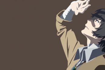 Wallpaper Anime, Bungou Stray Dogs, Osamu Dazai