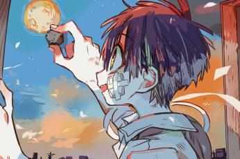 Wallpaper Anime, Jibaku Shounen Hanako Kun