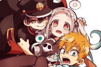 Wallpaper Anime, Jibaku Shounen Hanako Kun, Kou Minamoto