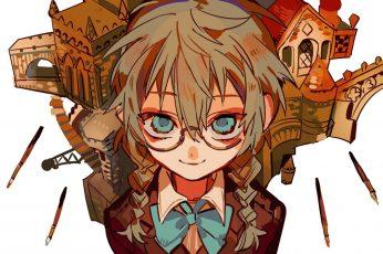 Wallpaper Anime, Jibaku Shounen Hanako Kun, Mei Shijima