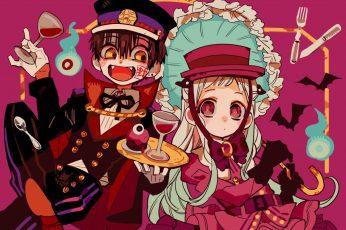 Wallpaper Anime, Jibaku Shounen Hanako Kun, Nene Yashiro
