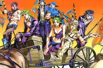 Wallpaper Anime, Jojos Bizarre Adventure, Giorno Giovanna