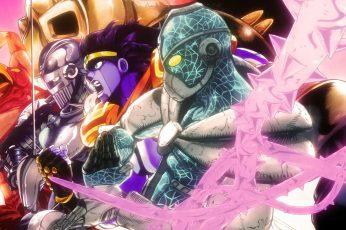 Wallpaper Anime, Jojos Bizarre Adventure, Hermit Purple