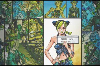 Wallpaper Anime, Jojos Bizarre Adventure, Jolyne Cujoh