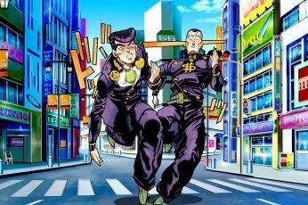 Wallpaper Anime, Jojos Bizarre Adventure, Josuke Higashikata