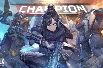 Wallpaper Apex Legends, Wraith Apex Legends