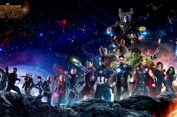 Wallpaper Captain America, Loki, Drax, Spider Man, Hulk