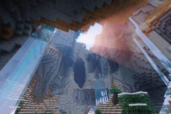 Wallpaper Cave, Minecraft, Nature, Video Games