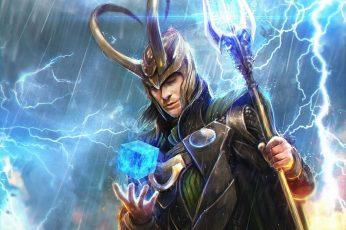 Wallpaper Comics, Loki, Avengers, Marvel Comics