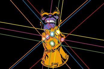 Wallpaper Comics, Thanos, Infinity Gauntlet