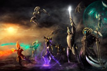 Wallpaper Fantasy Characters With Super Powers Digital