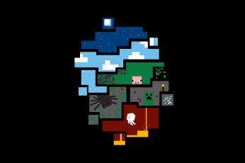 Wallpaper Game Application Screenshot, Minecraft