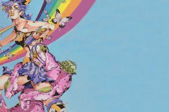 Wallpaper Jojos Bizarre Adventure, Hirohiko Araki, Anime