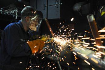 Wallpaper Man Using Welding Machine, Construction, Worker