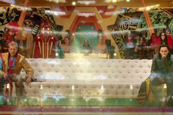 Wallpaper Marvel Cinematic Universe, Loki, Jeff Goldblum