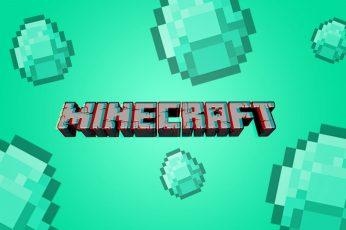 Wallpaper Minecraft, Communication, Green Color