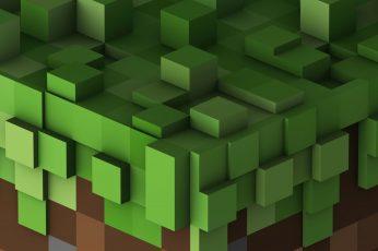 Minecraft Digital Wallpaper, Video Game, Mojang