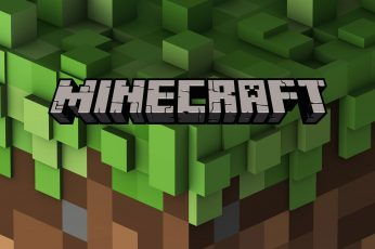 Wallpaper Minecraft Theme Background Images, Green Color