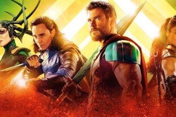 Wallpaper Movie, Thor Ragnarok, Cate Blanchett, Chris