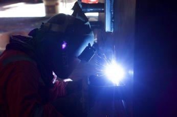 Wallpaper Person Welding Metal, Welder, Engineer, Industry
